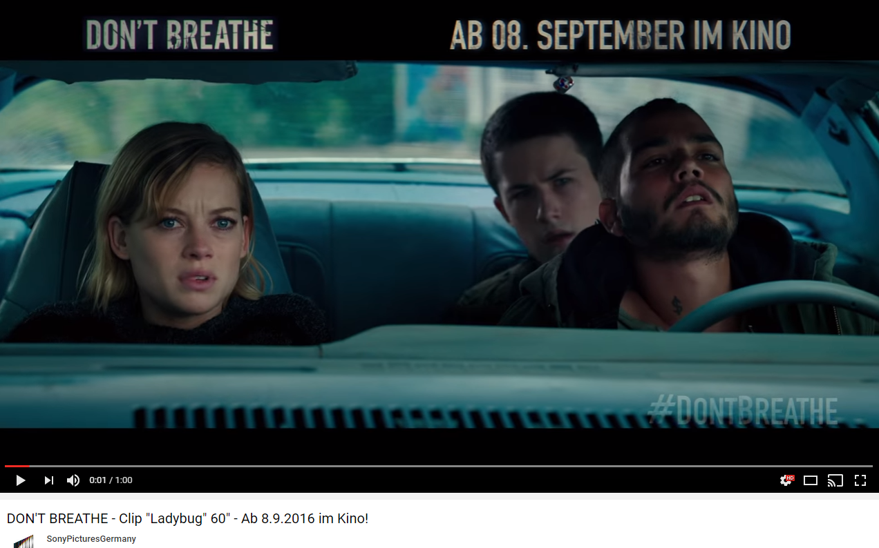 "Grusel vom Feinsten: ""Don't Breathe"""